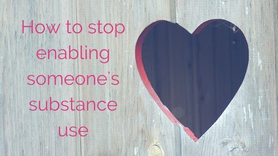 How to stop 'enabling' someone's substance use