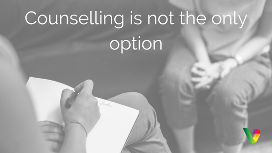 Counselling is not the only option